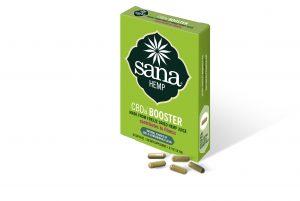 CBDa Hempjuice Powder Capsules (Sana Hemp BOOSTER)